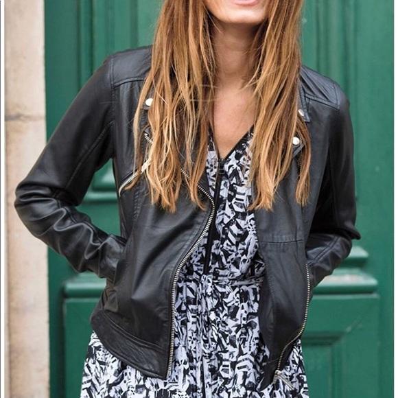 581af73ad71 Ellos Jackets   Blazers - Plus Size Ellos Black Faux Leather Jacket